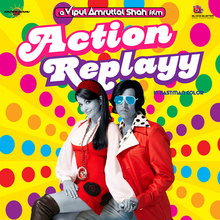 <cite>Action Replayy</cite> (2010) movie posters