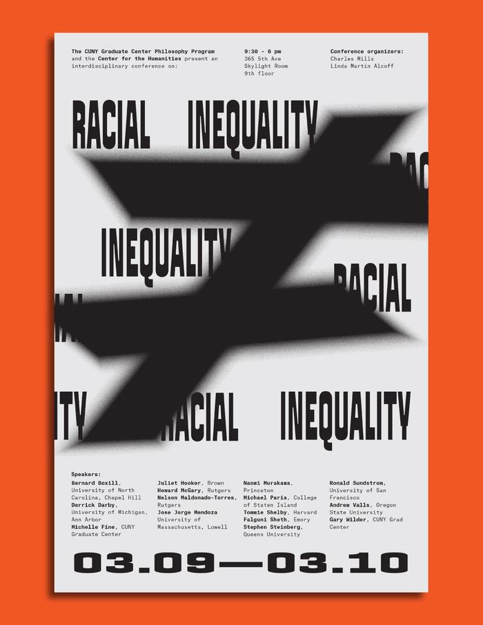 Racial Inequality conference posters 2