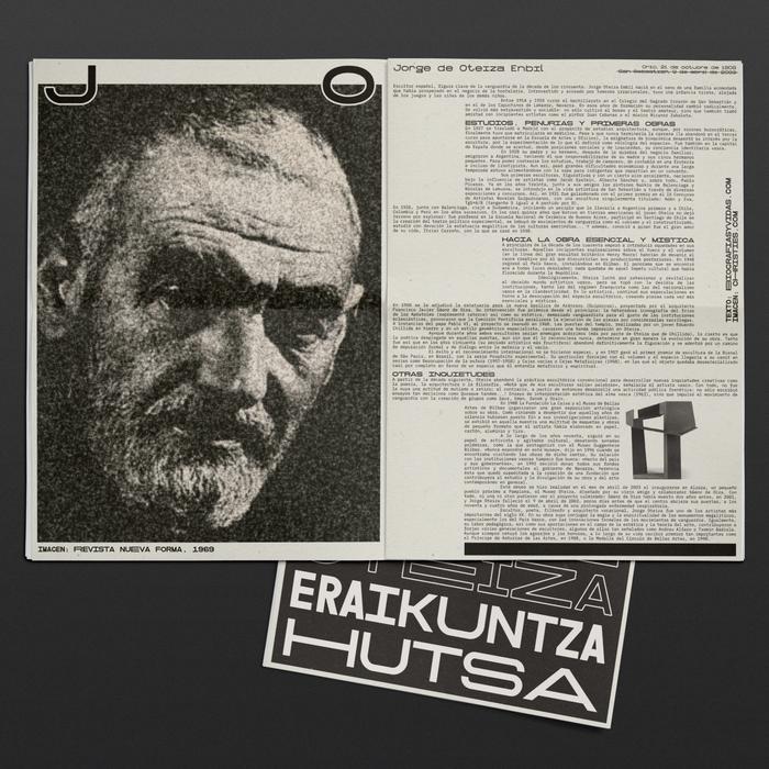 Oteiza & Chillida fanzines 3
