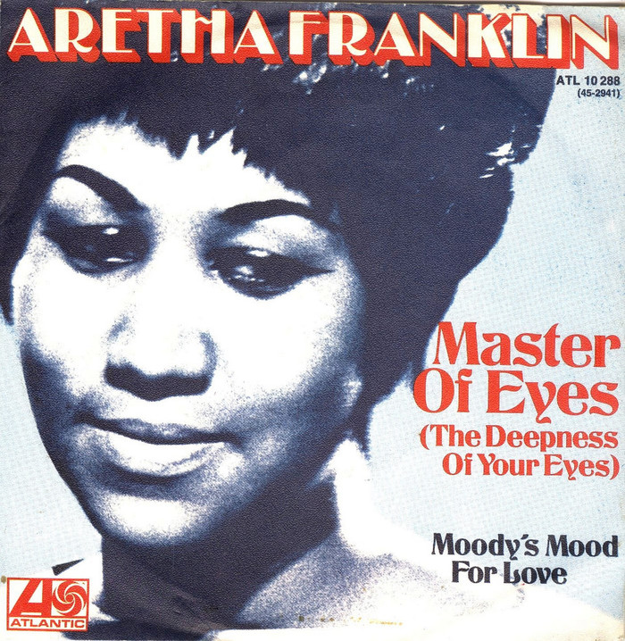 """Aretha Franklin – """"Master Of Eyes"""" single cover"""