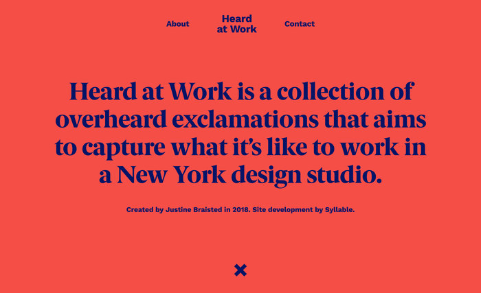 Heard at Work website 2