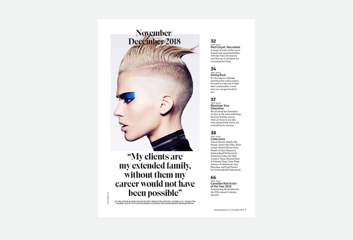 Salon magazine redesign 2