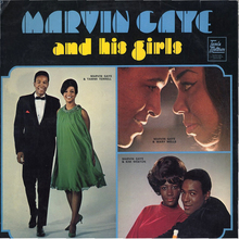 <cite>Marvin Gaye And His Girls</cite> album art