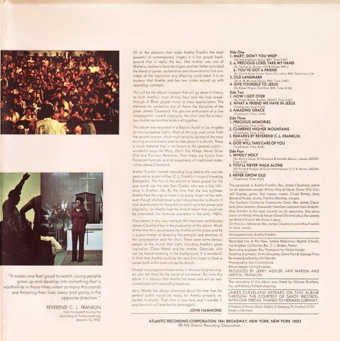 Amazing Grace – Aretha Franklin 3