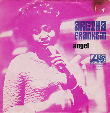 "Aretha Franklin – ""Angel"" Portuguese single cover"