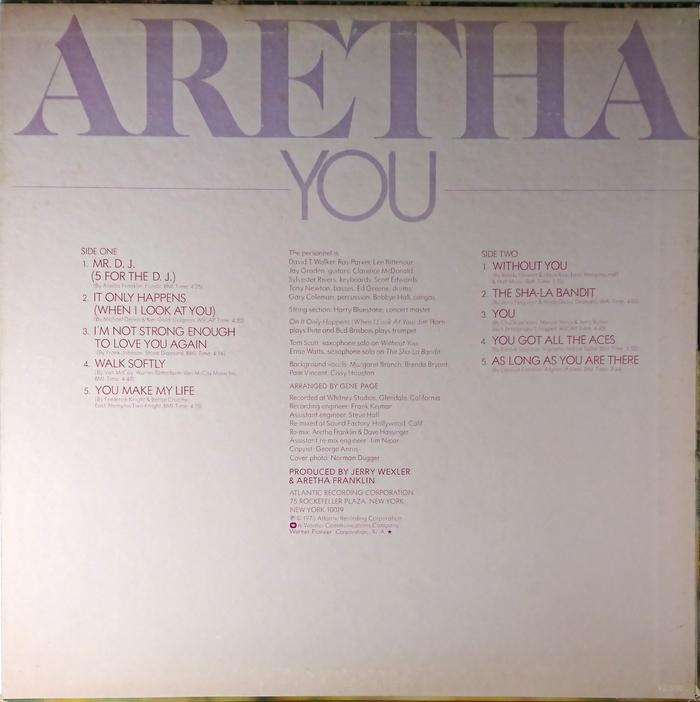 You – Aretha Franklin 2