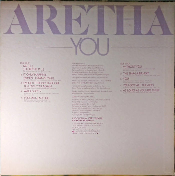 You – Aretha Franklin 2