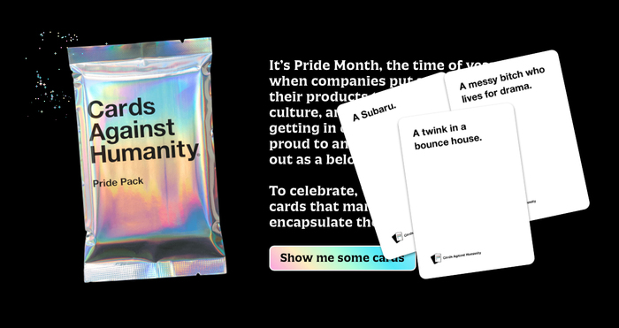 Cards Against Humanity: Pride Pack 1