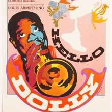 <cite>Hello Dolly</cite> movie poster (Czechoslovakia)