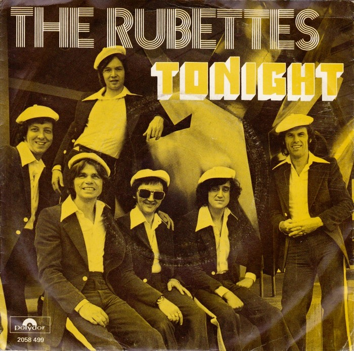 "The Rubettes – ""Tonight"" Dutch single cover"