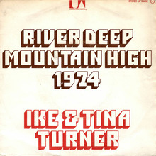 "Ike & Tina Turner – ""River Deep – Mountain High"" French single cover"