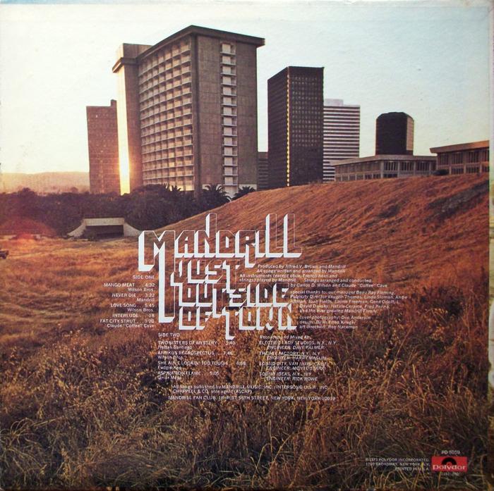 Mandrill – Just Outside Of Town album art 10