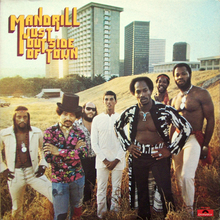 Mandrill – <cite>Just Outside Of Town</cite> album art