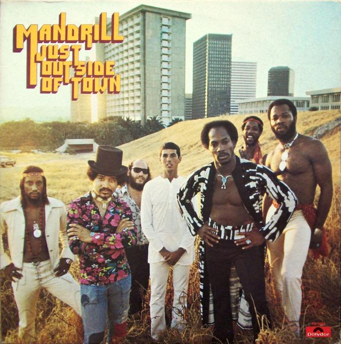 Mandrill – Just Outside Of Town album art 1