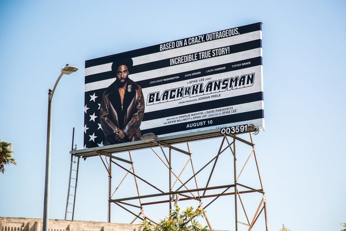 BlacKkKlansman (2018) movie posters, trailer, soundtrack, ads 5