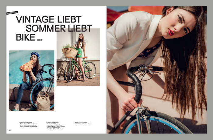 Velo Fashion Magazin 1