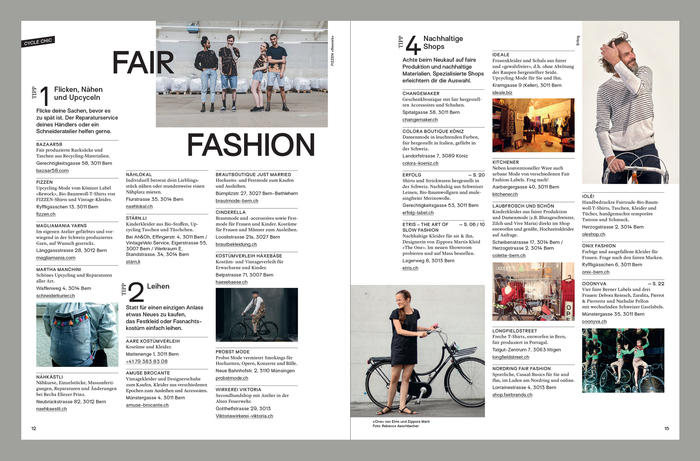 Velo Fashion Magazin 3