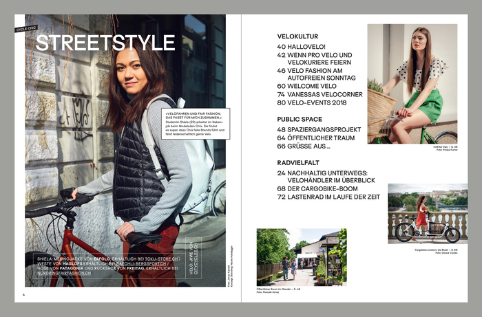 Velo Fashion Magazin 4