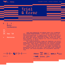 Trial & Error – DIY Music Conference