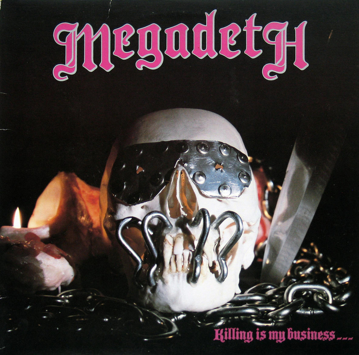 Megadeth – Killing Is My Business … And Business Is Good! album art 1