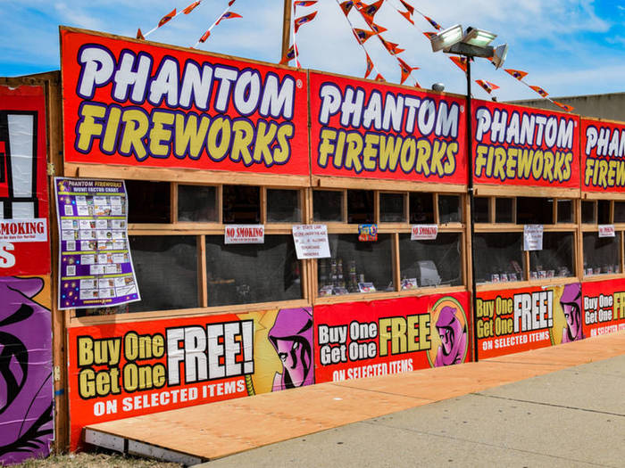 Phantom Fireworks 4