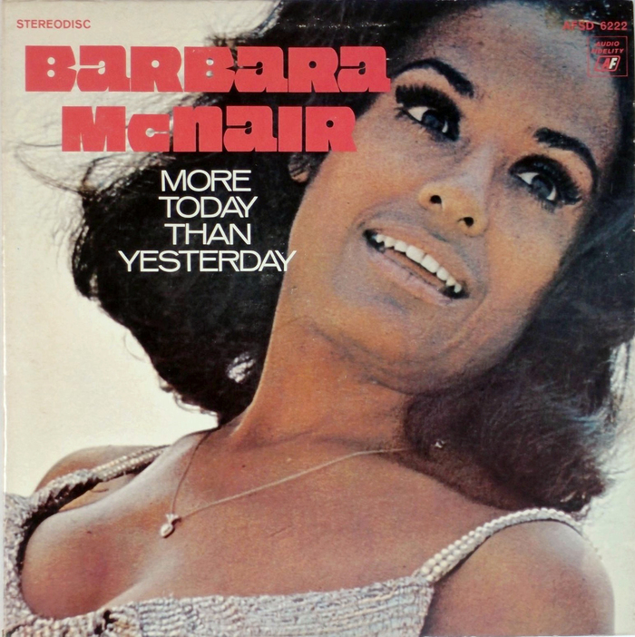 Barbara McNair – More Today Than Yesterday album art 1