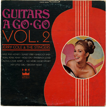 Jerry Cole &amp; The Stingers – <cite>Guitars A Go Go Vol. 2 </cite>album art