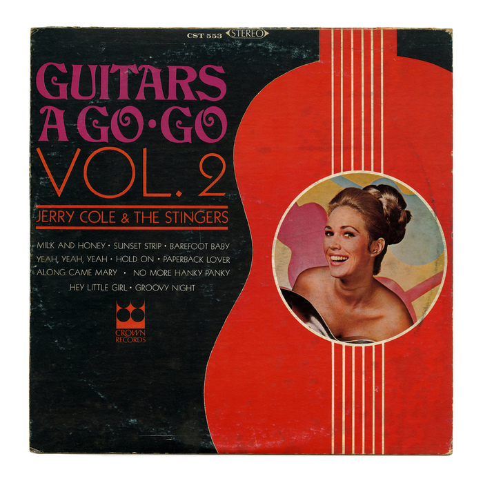 Jerry Cole & The Stingers – Guitars A Go Go Vol. 2 album art