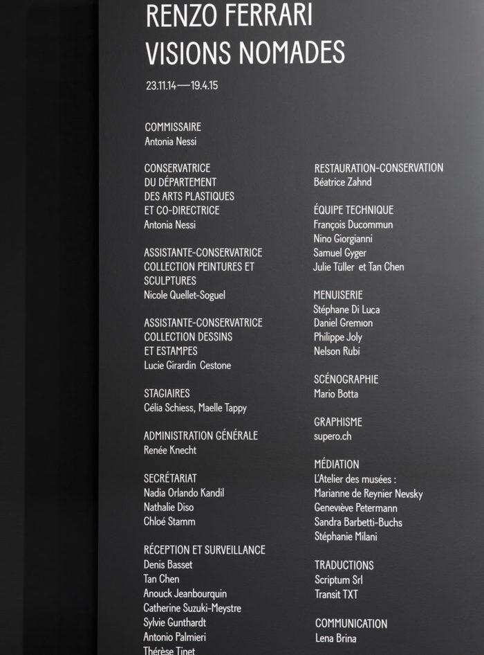 Renzo Ferrari, Visions Nomades 11