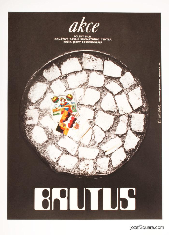 Operation Brutus (Czechoslovak movie poster)