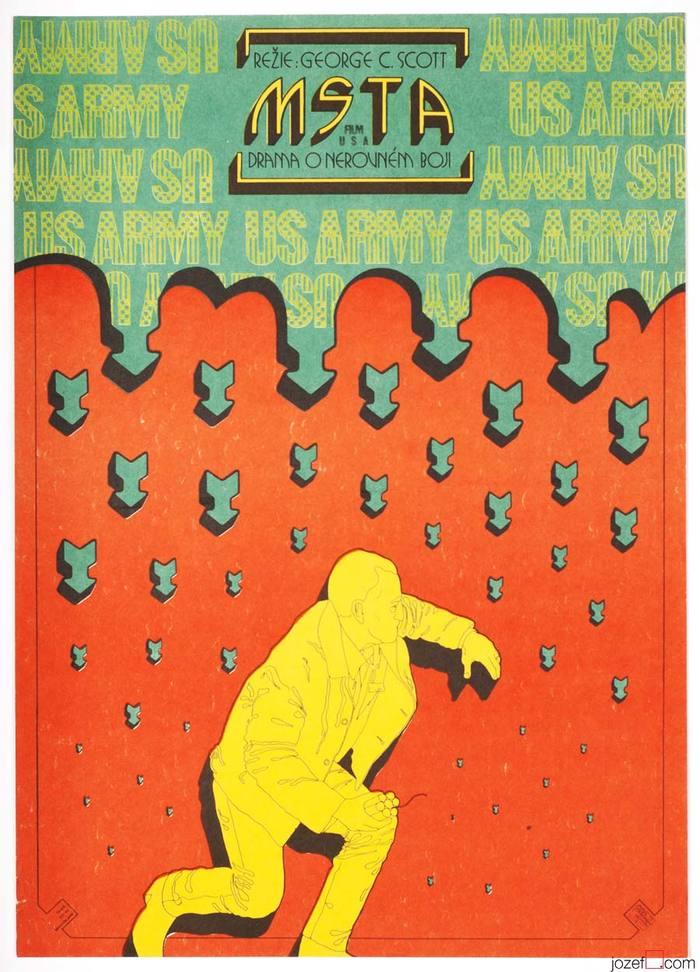 Rage (Czechoslovak movie poster)