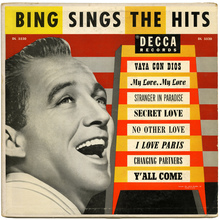 <cite>Bing Sings The Hits</cite> – Bing Crosby