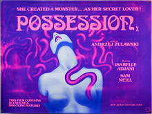 <cite>Possession</cite> (UK movie poster)