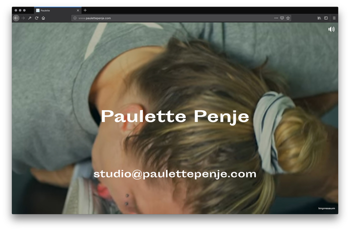 Paulette Penje website 1