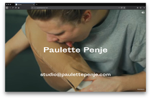 <cite>Paulette Penje</cite> website