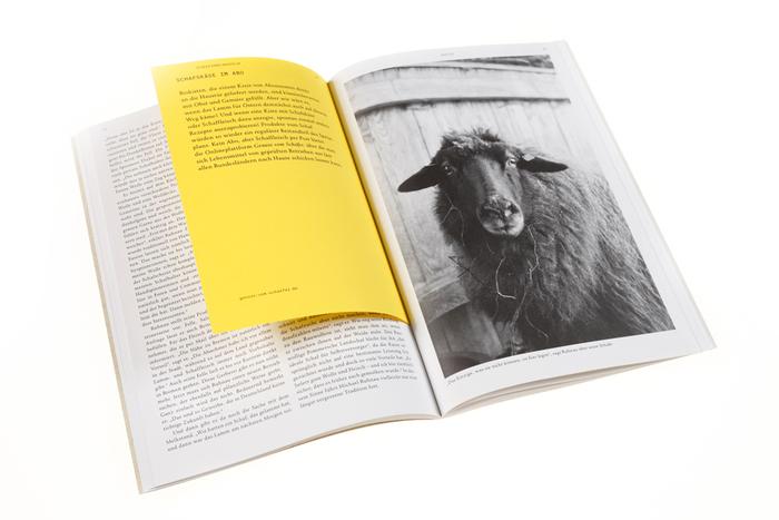 Schaf und Mensch magazine 1