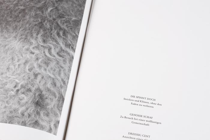 Schaf und Mensch magazine 6