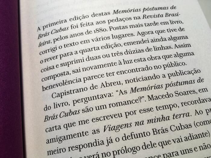 Memórias Póstumas de Brás Cubas, Machado de Assis 21