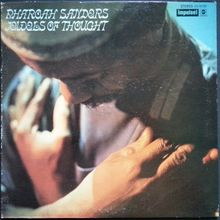 Pharoah Sanders – <cite>Jewels Of Thought </cite>album art