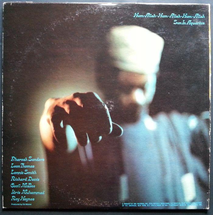 Pharoah Sanders – Jewels Of Thought album art 2