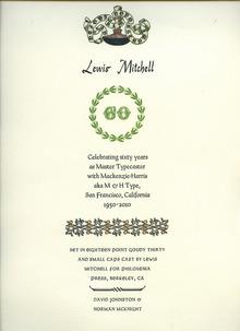 Lewis Mitchell 60