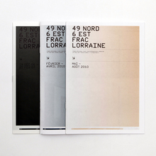 Exhibition catalogs for FRAC Lorraine