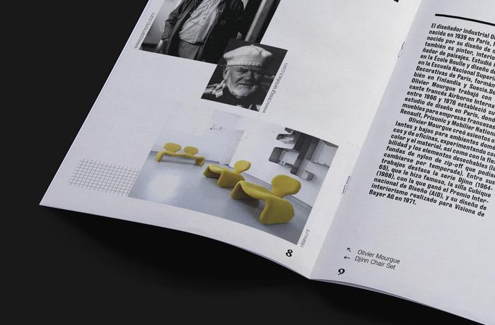 Djinn Chaise Longue wood model booklet 3