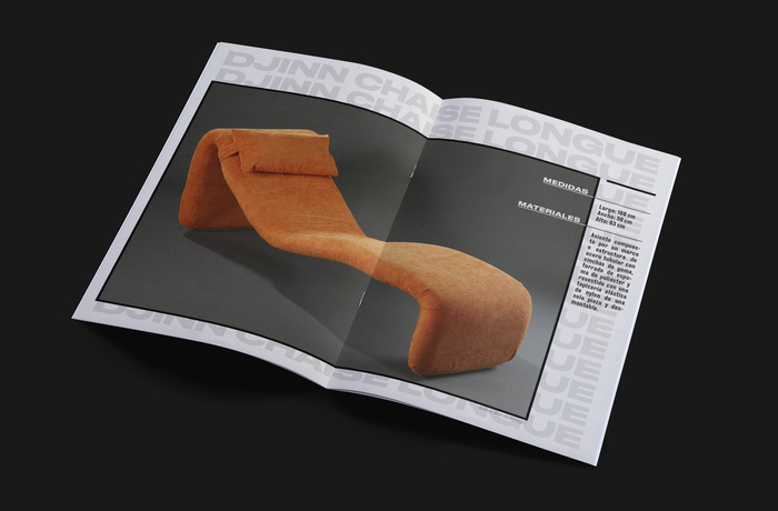 Djinn Chaise Longue wood model booklet 4