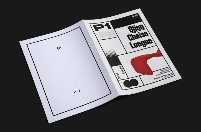 Djinn Chaise Longue wood model booklet 6