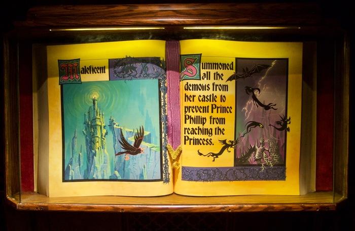 Sleeping Beauty Castle Storybook 7