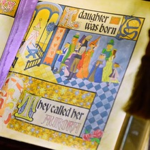 Sleeping Beauty Castle Storybook