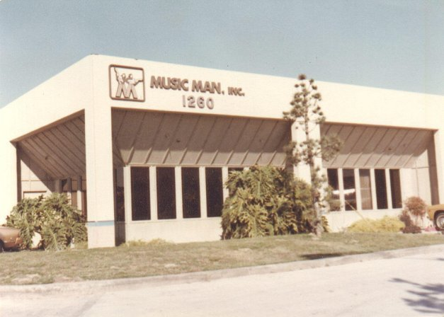 Music Man, Inc. HQ located at 1260 S State College Pkwy Anaheim, California.