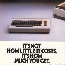 Commodore 64 magazine advertising