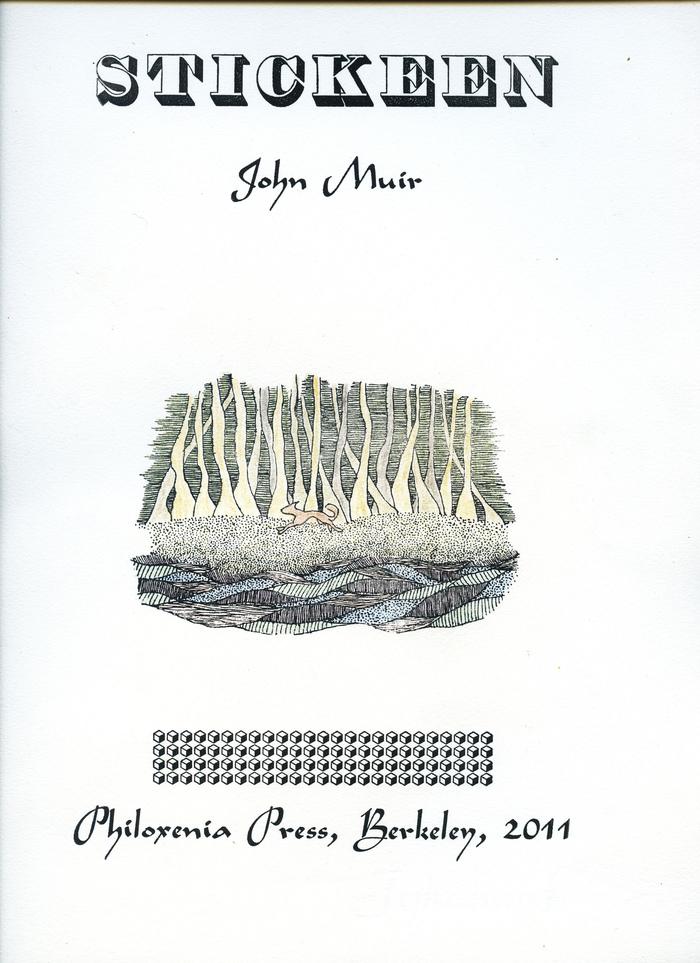 Stickeen – John Muir (Philoxenia Press)